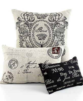 Macy's Decorative Pillows Stunning Park Bsmith Bedding Vintage House Decorative Pillows  Decorative Review