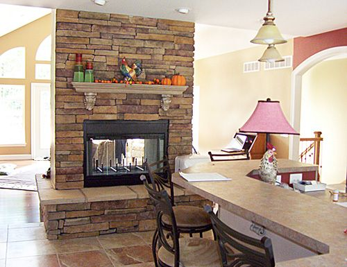 double sided fireplace | Dream Home | Pinterest | Double sided ... on kitchen renovation ideas, remodeled kitchen cabinets, remodeled kitchen americana, small kitchen design ideas, remodeled kitchens with islands, counter top kitchen ideas, skylight kitchen ideas, double oven kitchen ideas, remodeling your kitchen ideas, microwave kitchen ideas, wood floors kitchen ideas, small kitchen remodeling ideas, remodeled contemporary kitchen, diy kitchen remodel ideas, historic kitchen ideas, spacious kitchen ideas, basic kitchen remodel ideas, pantry kitchen ideas, traditional kitchen design ideas, 2014 kitchen remodeling ideas,