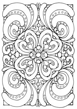 Abstract Art Coloring Pages Abstract Coloring Pages Mandala Coloring Pages Geometric Coloring Pages