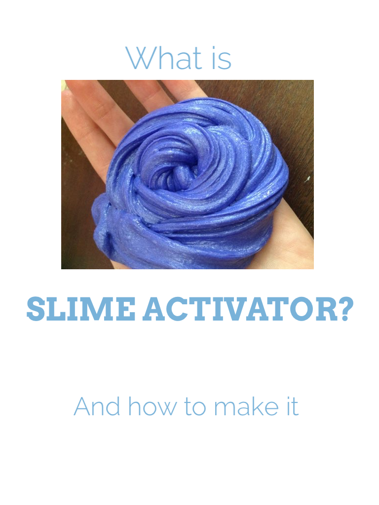 Every Slime Needs Activator Activator Is What Pulls The Slime Together It S What Changes Glue To Soap Slime Powder Laundry Detergent Liquid Laundry Detergent