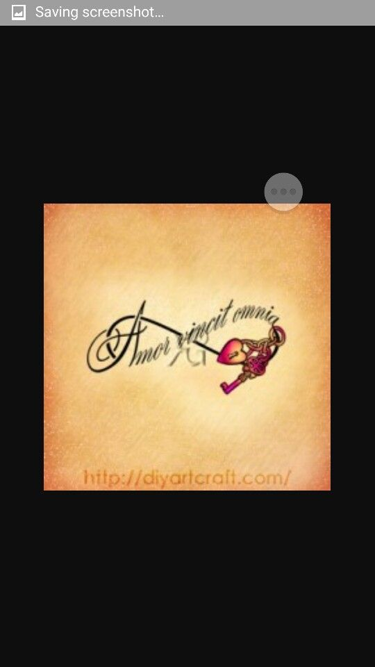 Amor Vincit Omnia Tattoo Designs