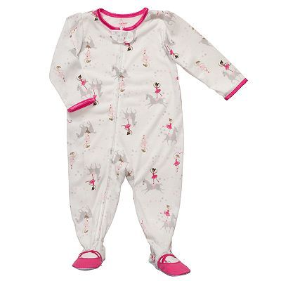 a06fc19c3e Carter s Ballerina Footed Pajamas - Toddler sale  12.10