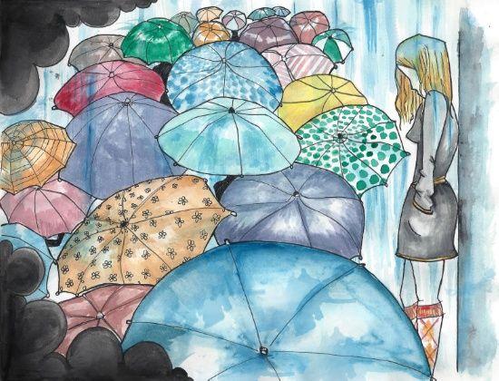 Under The Weather Art Print