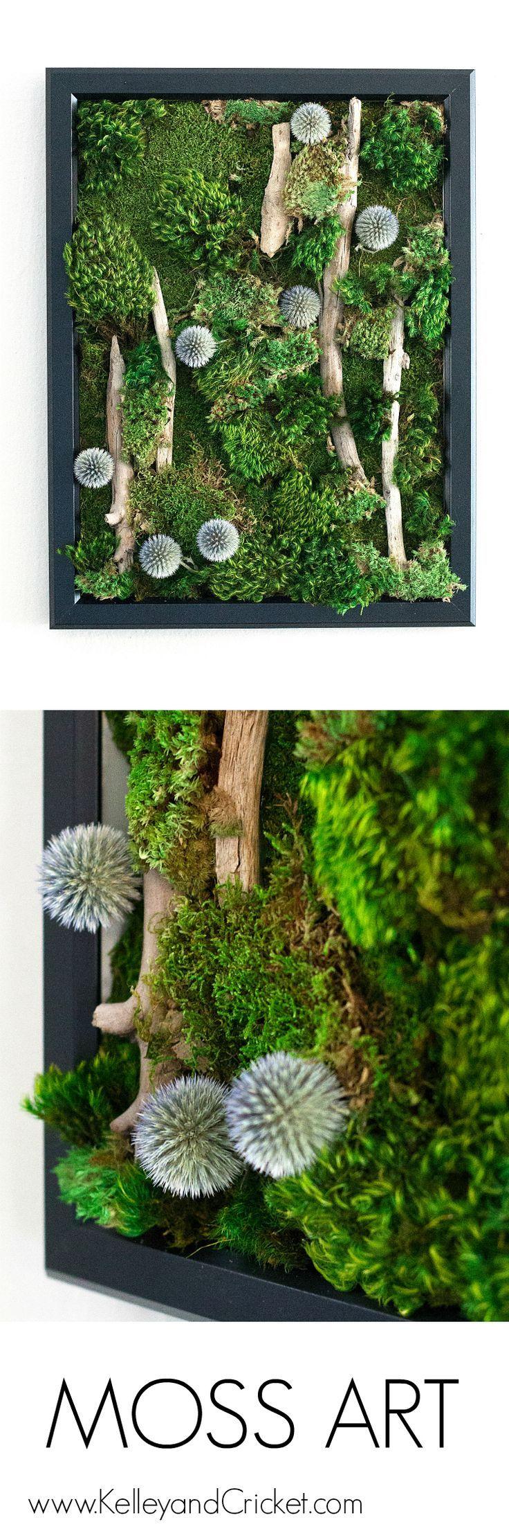 Moss art shop mind body vision moss wall art