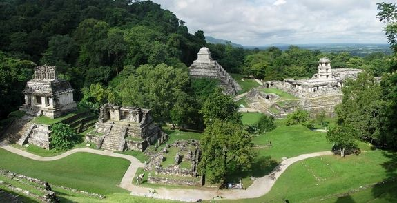 Palenque: Mayan City & Temple complex ruled by Pakal, who came to power at the age of 12 in 615 AD and died at the age of 80