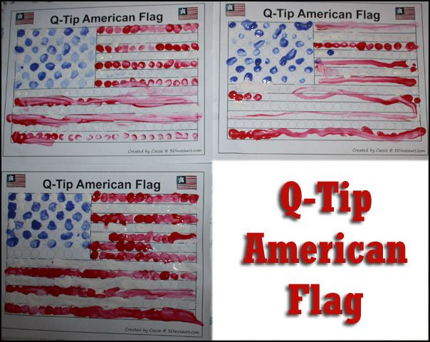 American Flag - Story Starters for Kids (Memorial Day)