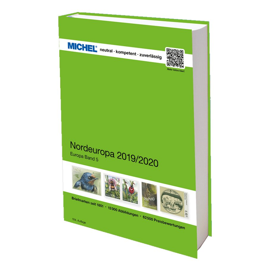 Michel Catalog Nordeuropa 2019 2020 Ek 5 Stamp Catalogue Catalog Organizing Time