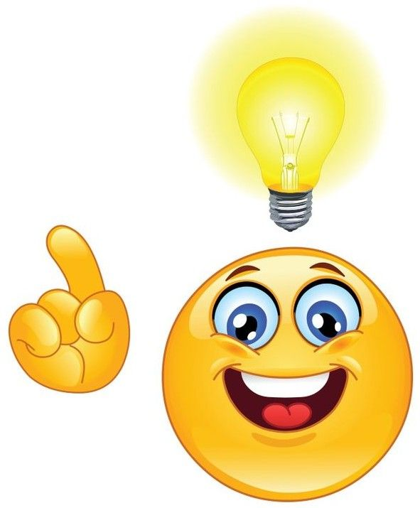 Smiley Having an Idea! | Emoticone, Emoji souriant, Emoticone gratuit
