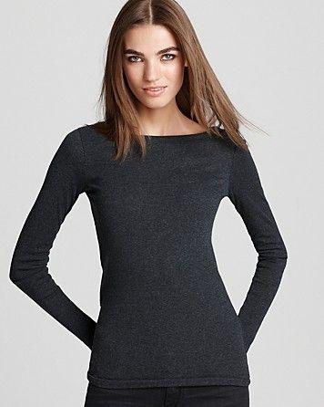 Vince Sweater - Rib Wide Neck - Sweaters - Apparel - Women's - Bloomingdale's