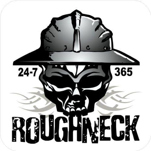 3 Patch Pride Roughneck Lunch Box Hard Hat Oil Field Tool Box Helmet Sticker