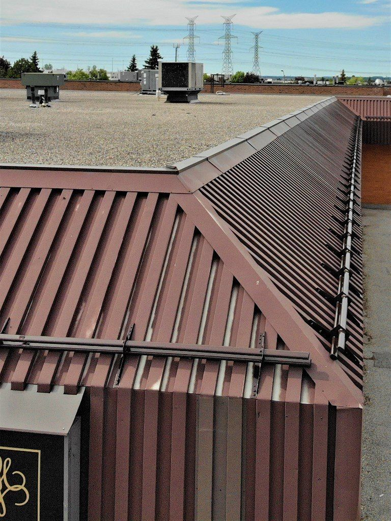 Snow Guards Project In Thornhill Metalroof Metalroofing Metalroofs Steelroof Steelroofing Metaltile Metaltiles S Metal Roof Cost Metal Roof Roof Cost