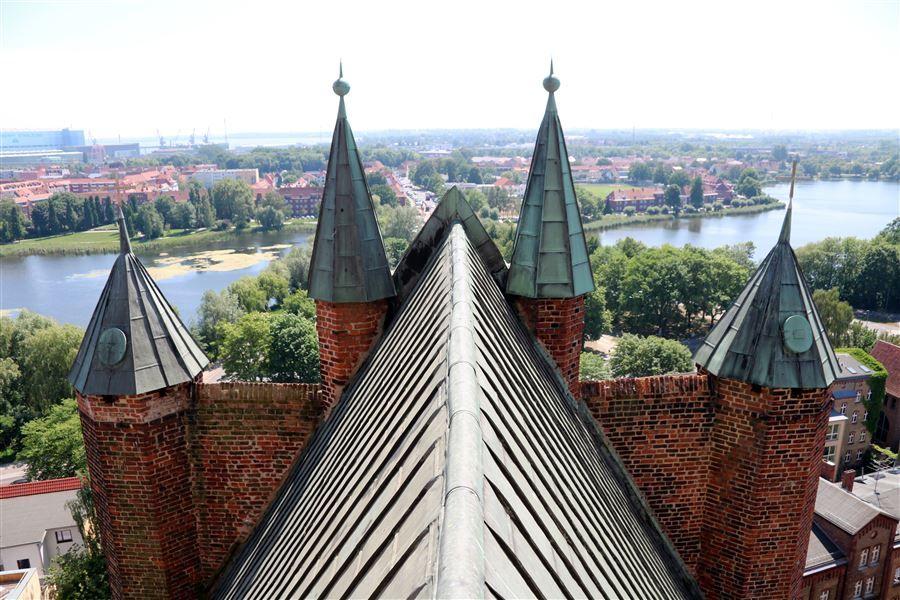 Kirchturmuhr St Marien Rügen