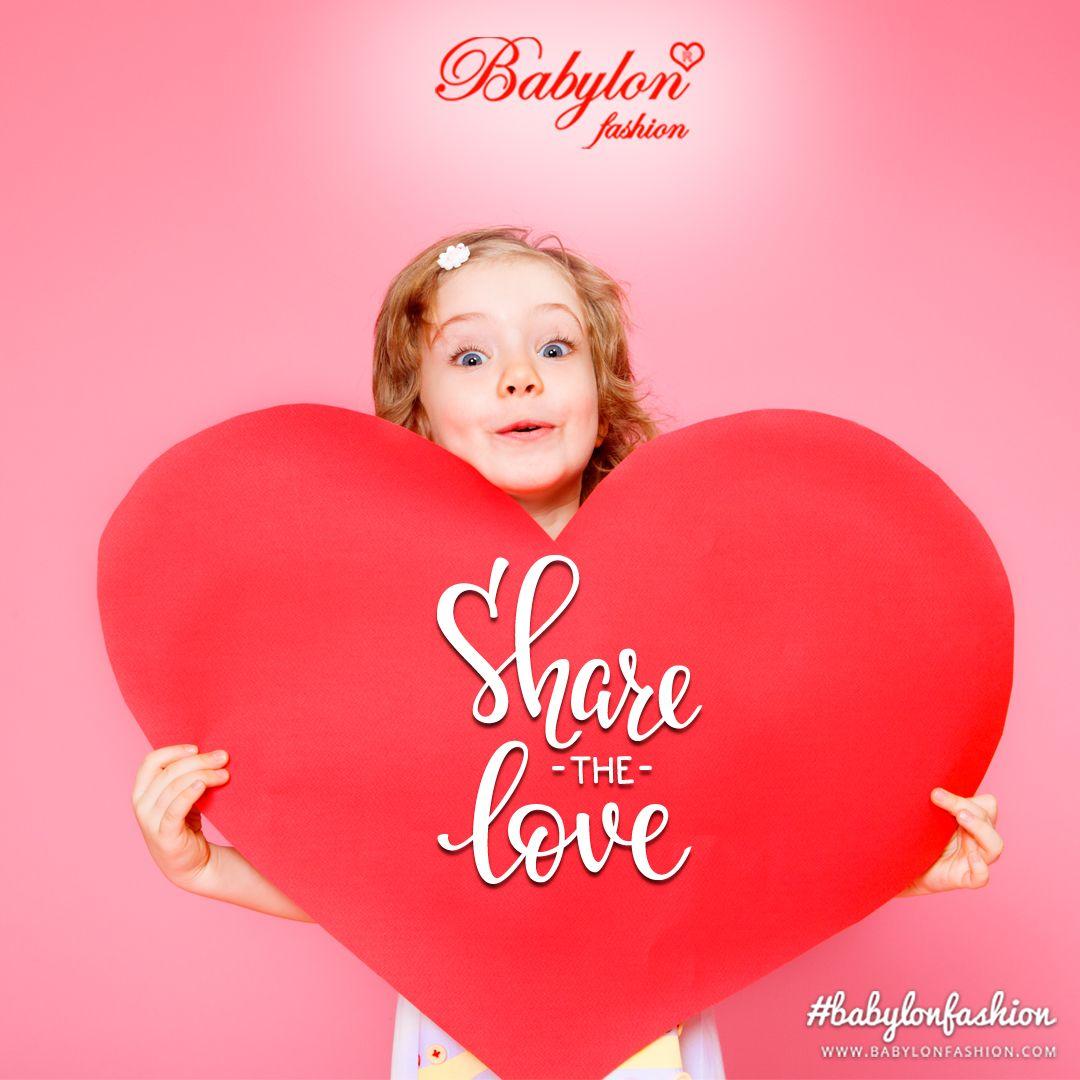 0b8b4618c71 Κοινοποιήστε την αγάπη σας για τα παιδιά σας!!! ❤ www.babylonfashion.