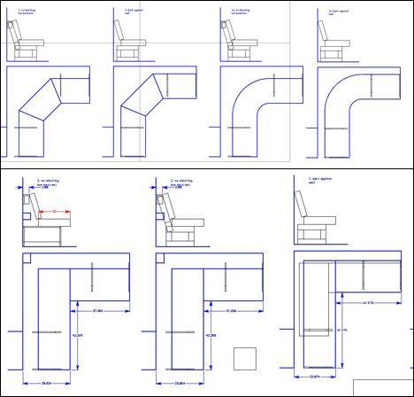 Monster post: Crap I've Built - Banquettes (poor man's couches) - Core77