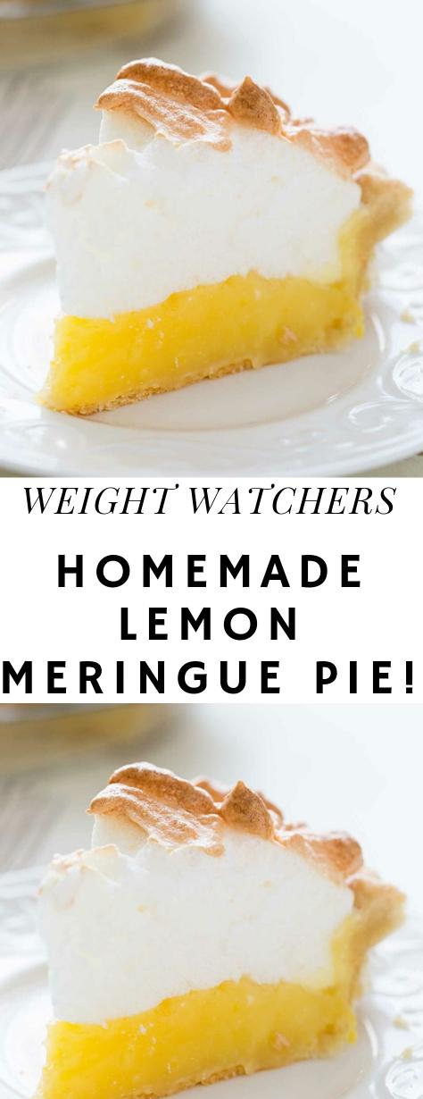 Homemade Lemon Meringue Pie! #lemonmeringuepie