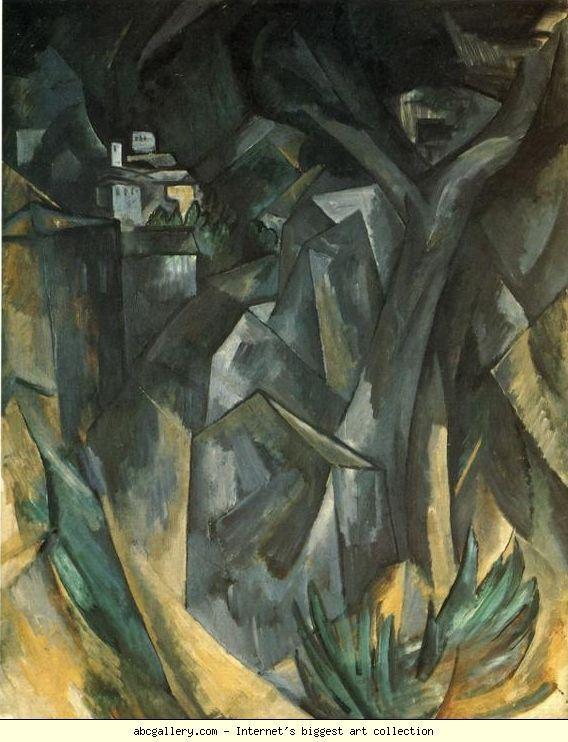 Georges Braque Landscape Olga S Gallery Georges Braque