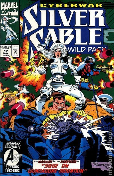 Silver Sable and the Wild Pack (1992) 12