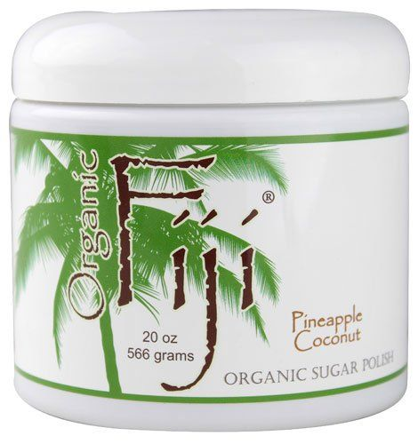Organic Fiji Sugar Polish Pineapple Coconut  20 oz >>> Want additional info? Click on the image.(This is an Amazon affiliate link)