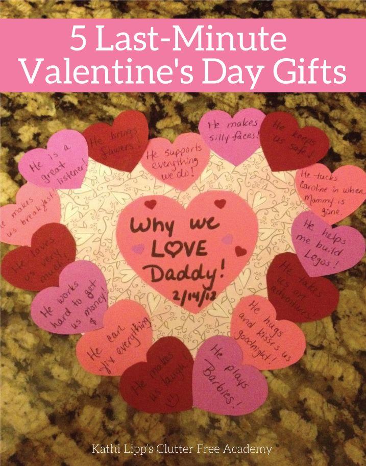 5 Last Minute Valentine S Day Gifts Kathi Lipp Valentine Day Crafts Valentines For Kids Valentines Diy