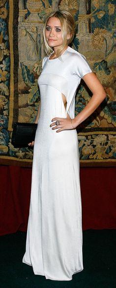 e3c72abe93 Image result for ashley olsen white dress calvin klein where to buy ...