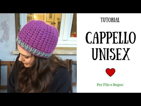Crochet Uncinetto Cappello Tutorial Passo A Passo Youtube örgü