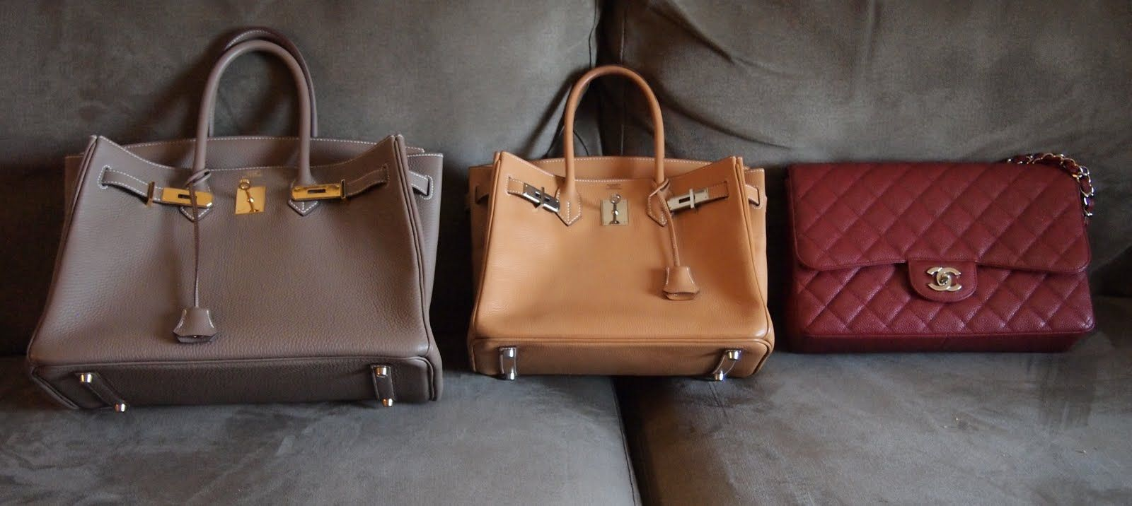 8199d29d13a9 Hermes Birkin 30cm and 35cm vs. Chanel Jumbo