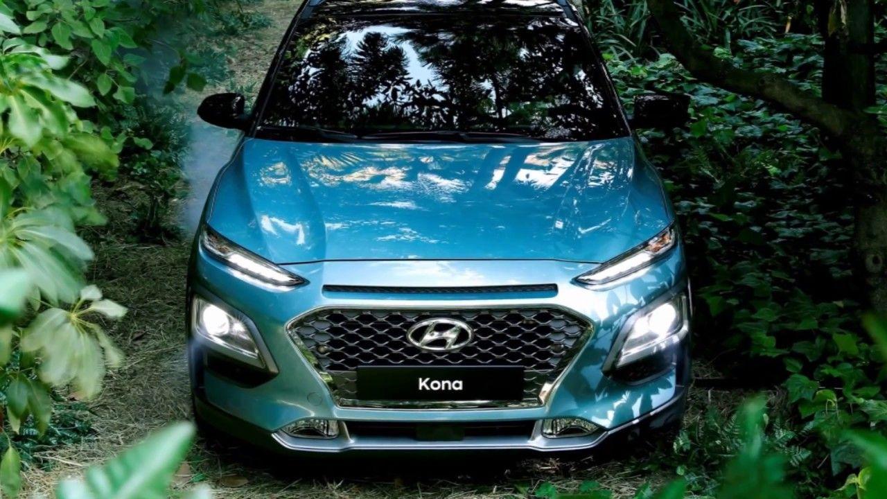 Hyundai Kona 2017 интерьер и экстерьер Компактный