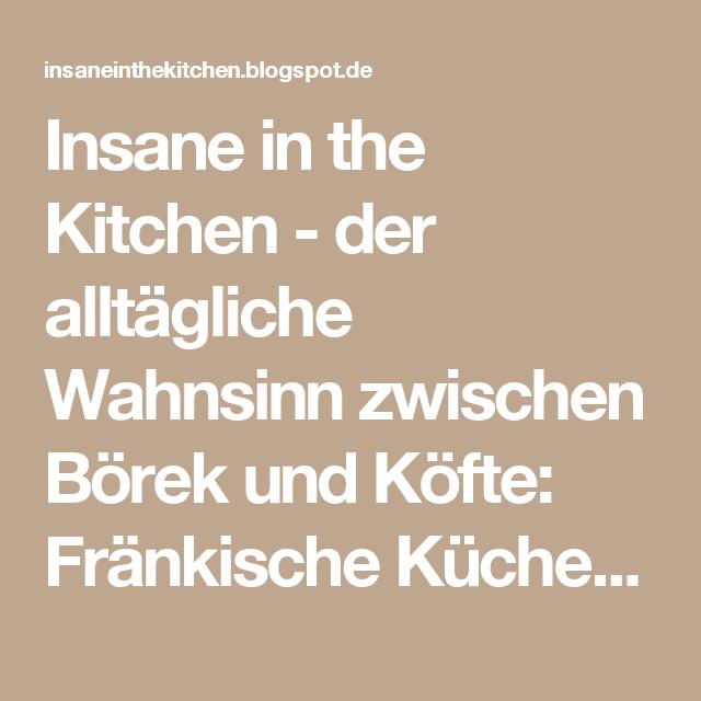 Fränkische Küche: Saure Zipfel - Rezept aus dem Lesekochbuch ...