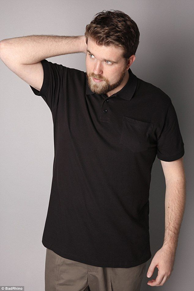 Img Signs Its First Plus Size Male Model Big Men Fashion Plus Size Men Male Models