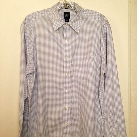 GAP shirt The reason I'm selling my shirts is because I lost weight and doesn't fit anymore. Very good condition. GAP Shirts Casual Button Down Shirts