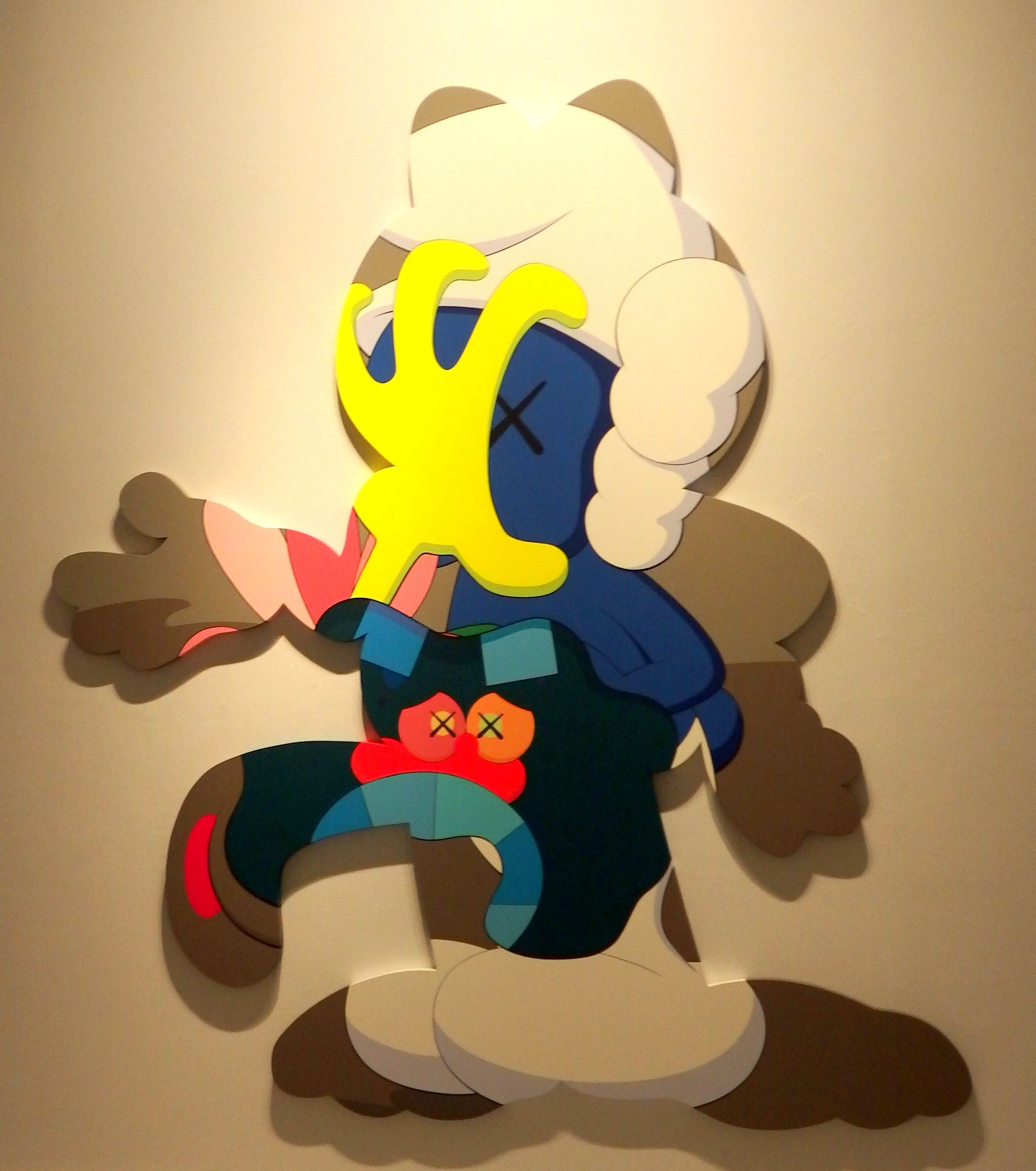 """This is the way"" by Kaws, showing the Contemporary Art Centre/ CAC in Malaga"