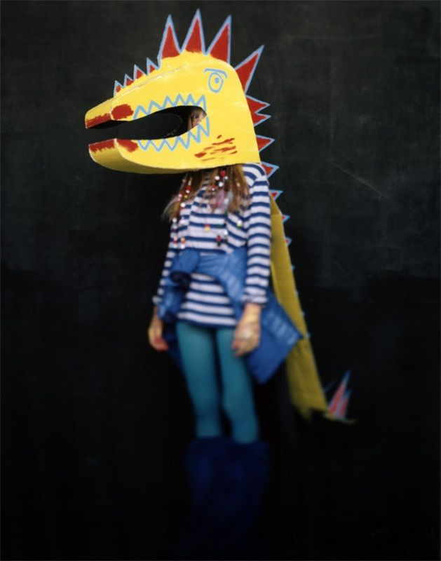 Get fired up for Halloween! cardboard-dragon-costume.jpg