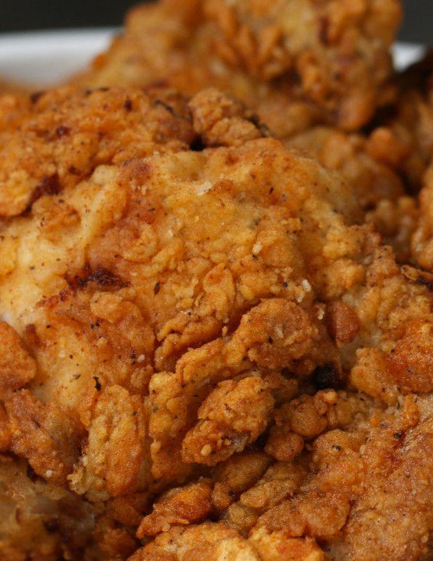 Tasty Cook Off Fried Chicken Fried Chicken Thigh Recipes Fried Chicken Thighs Boneless Buttermilk Fried Chicken