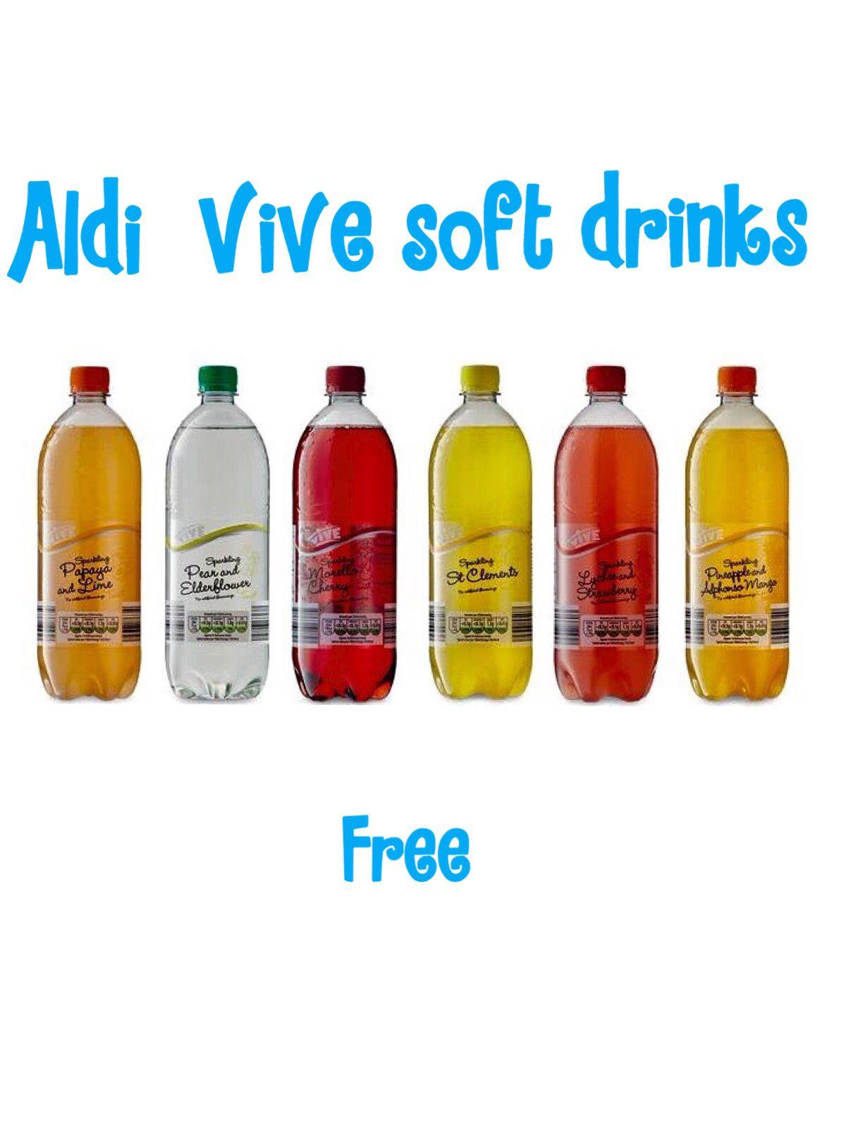 Aldi Vive Soft Drinks | Slimming world | Pinterest | Soft drink ...