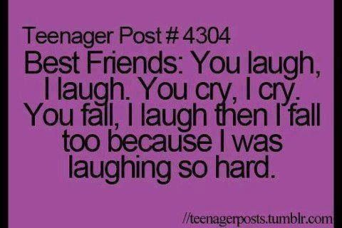 My sister, Teenagers and My friend on Pinterest |Teenager Post About Friendship