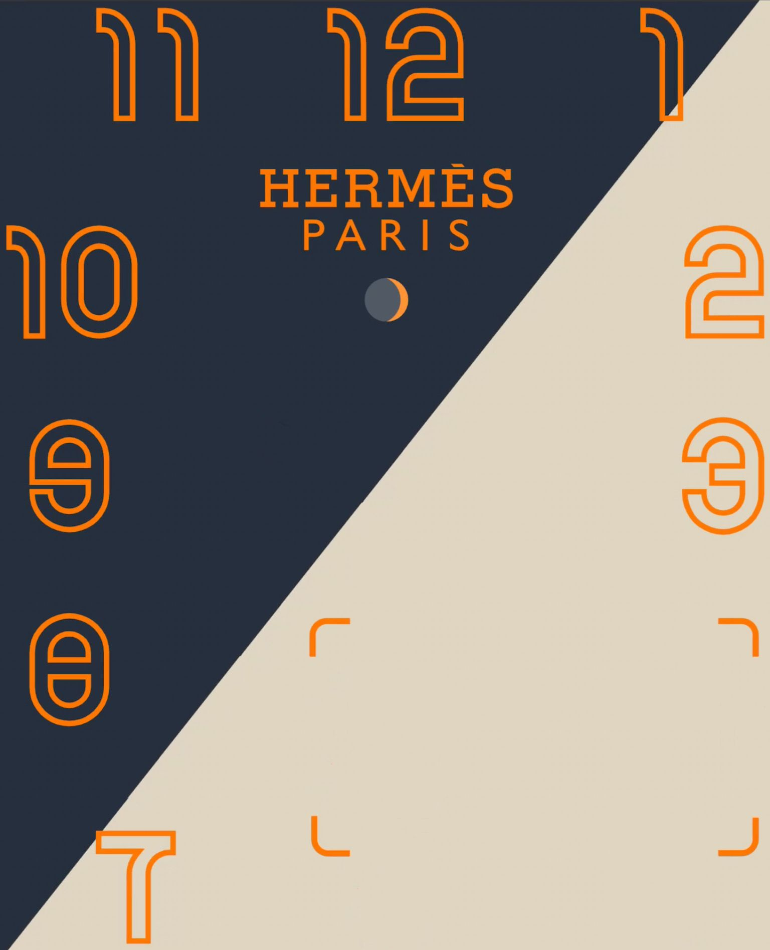 HERMÈS PARIS APPLE WATCH FACE