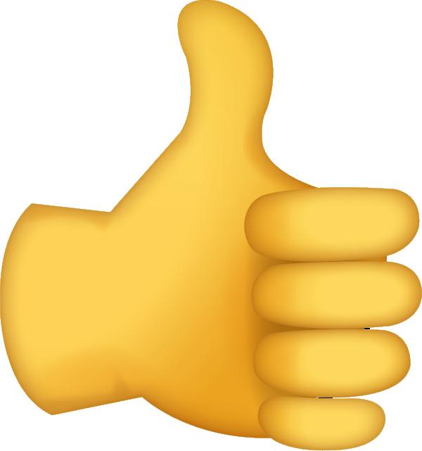 Thumbs Up Emoji Free Download Ios Emojis Thumbs Up Smiley Thumbs Up Sign Emoji
