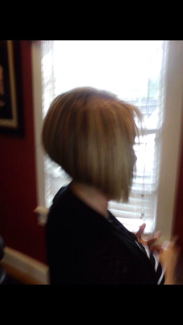 Stacked diagonal forward bob   Hair, Makeup, Nails   Pinterest