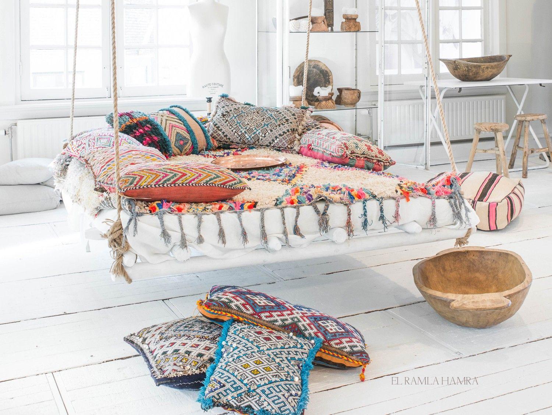 Berber kelim kussen | Kussen uit Marokko - Kussens, Decoratie en ...