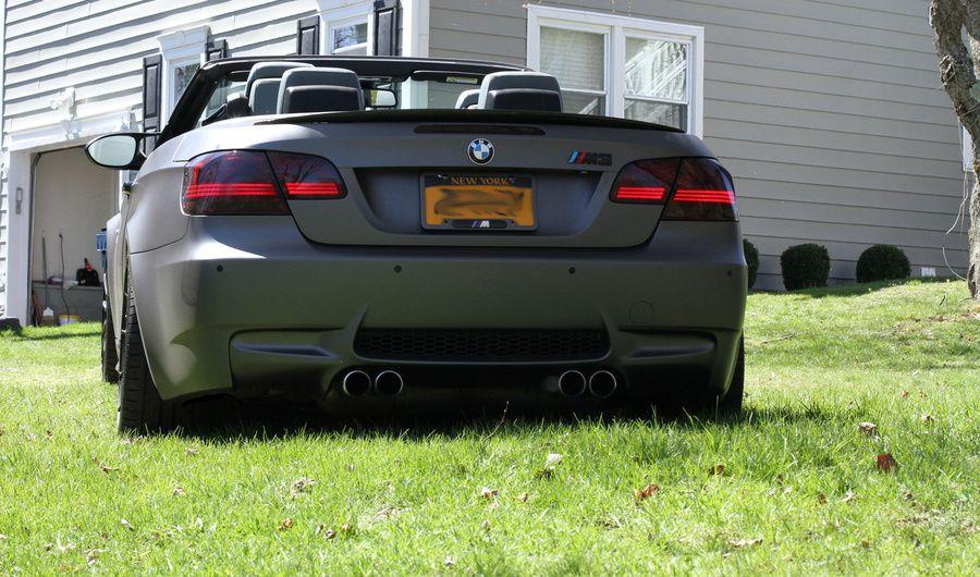 Bmw M3 With 3m Matte Grey Vinyl Wrap Bmw Bmw M3 Latest Cars