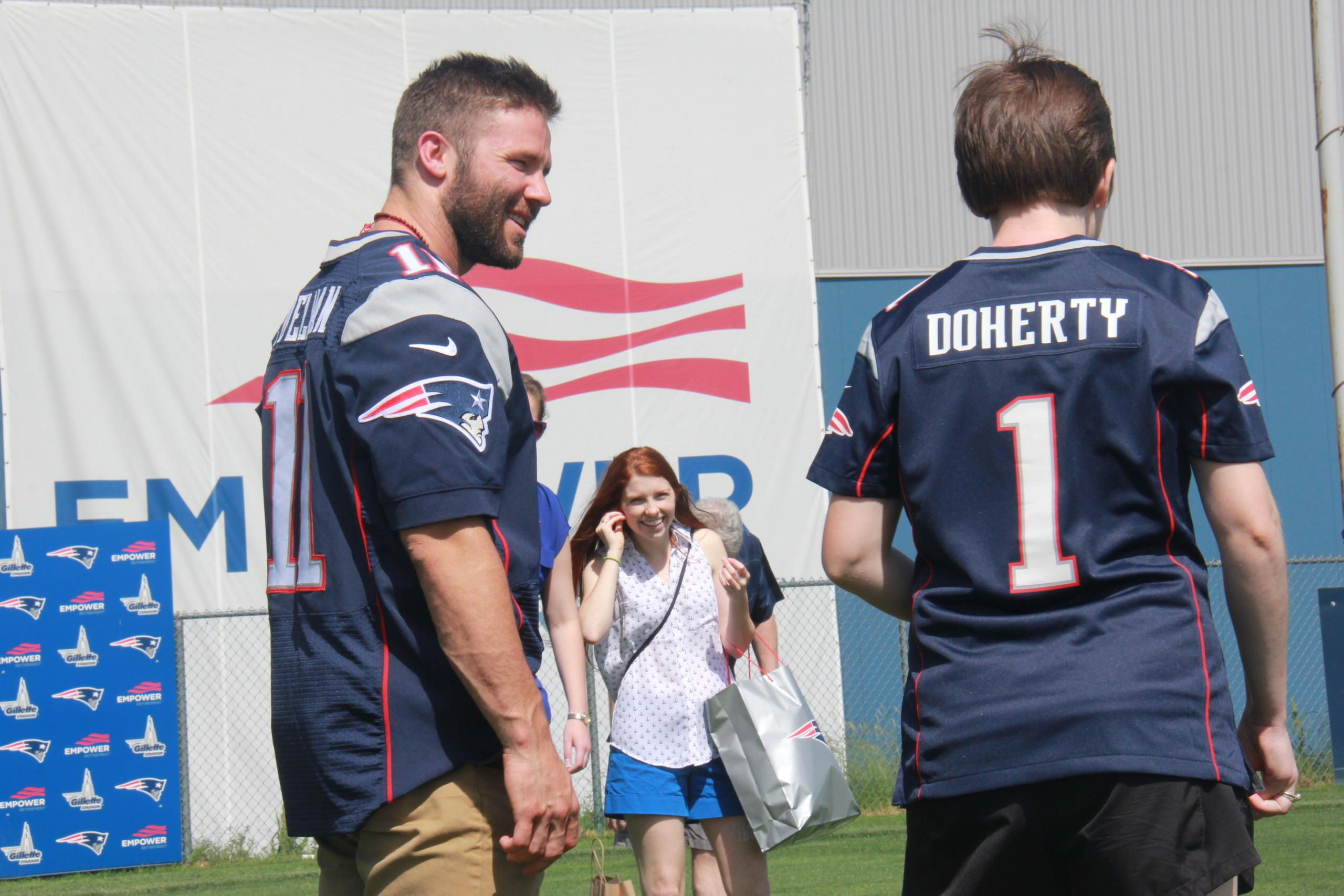 Julian Edelman Fulfills Make A Wish And Helps Create Psa Video Julian Edelman Edelman Julian