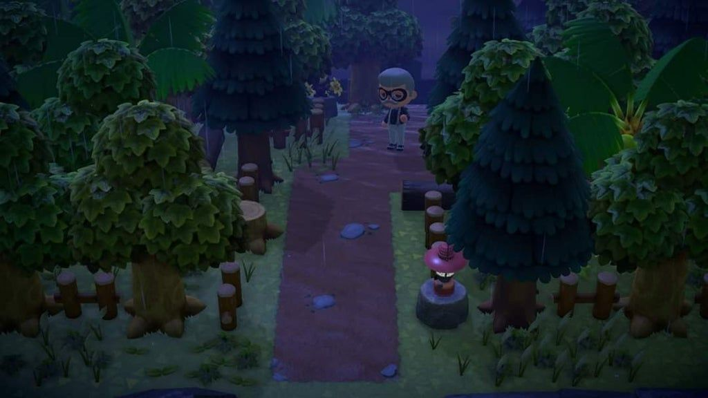 The entrance to my natural themed island : AnimalCrossing ...