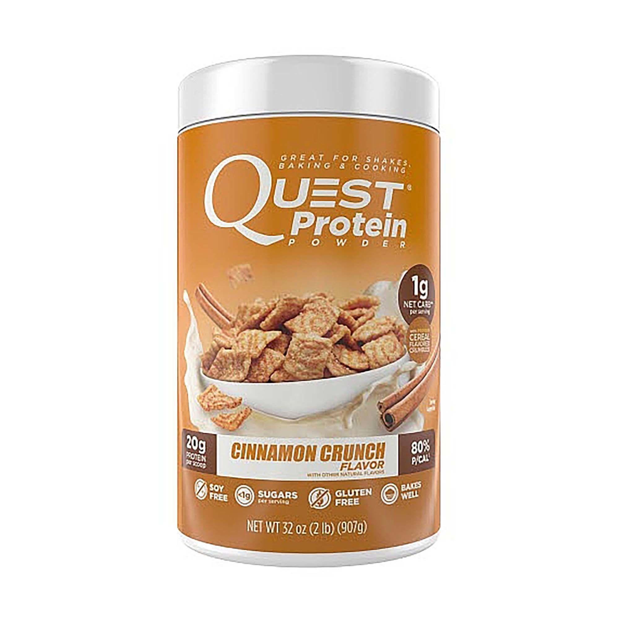 Cinnamon Crunch, Quest Protein