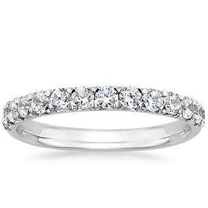 diamond wedding band.