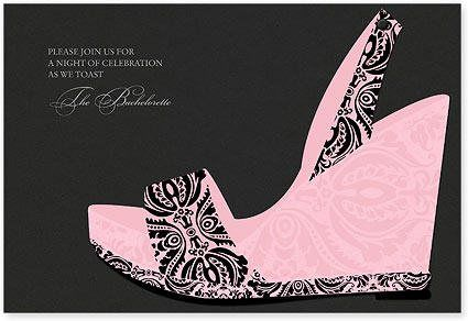 Kick Up Your Heels Invitation by Checkerboard