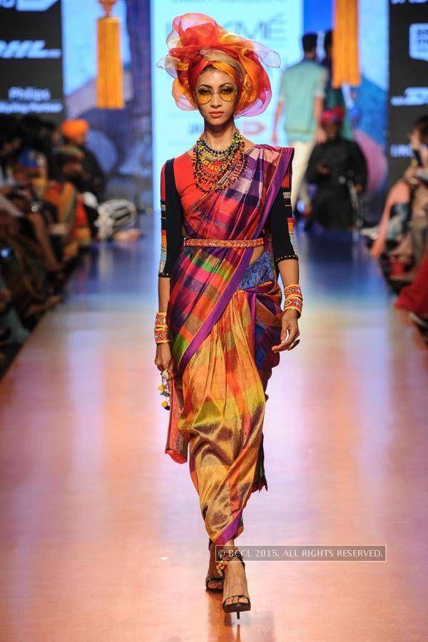 #LakmeFashionWeek #LakmeFashion #India #Sarees #Saris #IEF