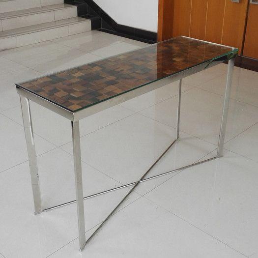Vig Furniture Modrest Santiago Console Table Allmodern Contemporary Console Table Table Console Table