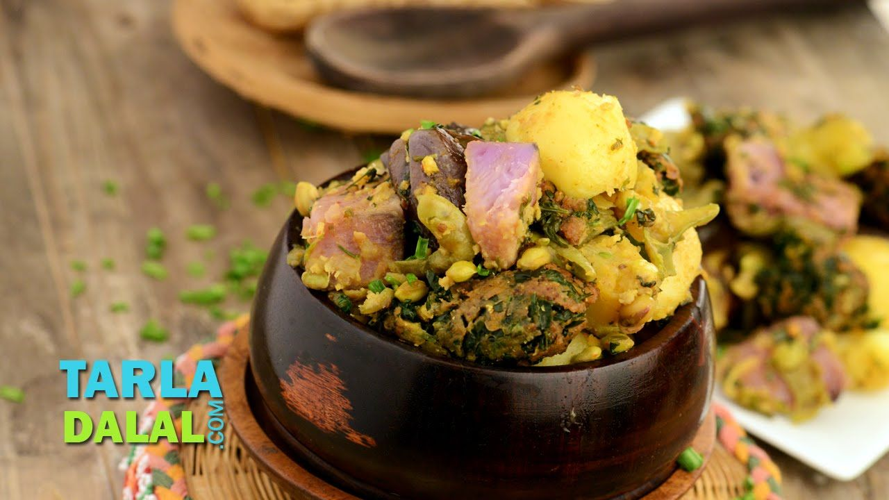 Oondhiya undhiyu gujarati undhiyu by tarla dalal gujarati today we will make undhiyu recipe how to make undhiyu step by step recipe watch my undhiyu recipe video forumfinder Images