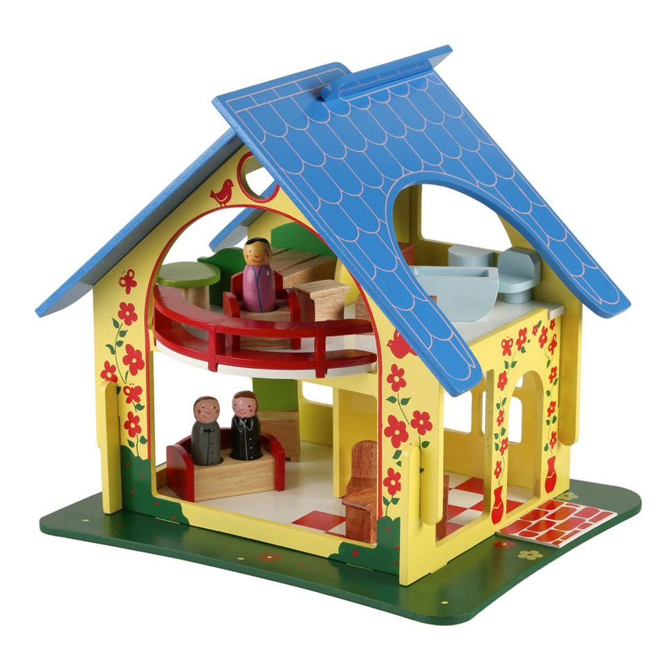 P This Adorable Doll S House From Sri Lanka Is Made From Albesia