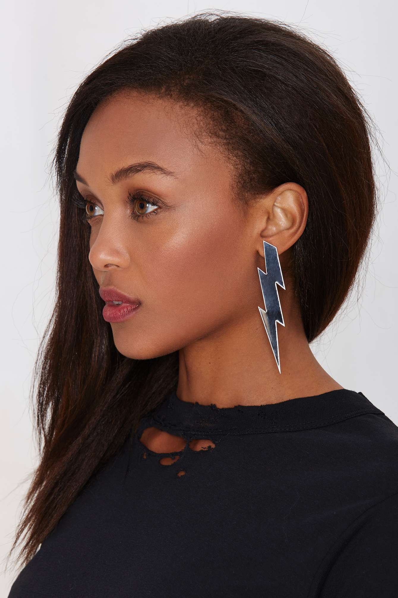 Strike Out Mirrored Earrings   Nasty Gal   My Style   Pinterest ... 8c56e828e9